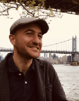 Photo of Davide Guiseppe Colasanto with a bridge in the background