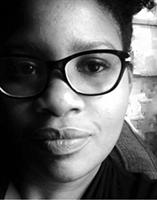 Photo of Deshonay Dozier in black and white